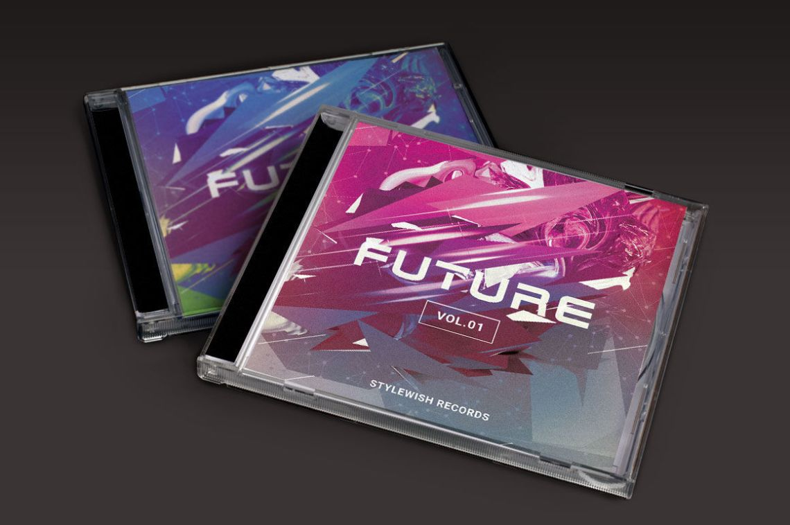 Download Cd Sleeve Mockup Psd Yellowimages