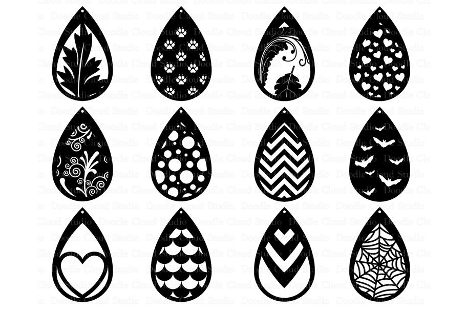 Download Download Svg Earrings Free for Cricut, Silhouette, Brother ...