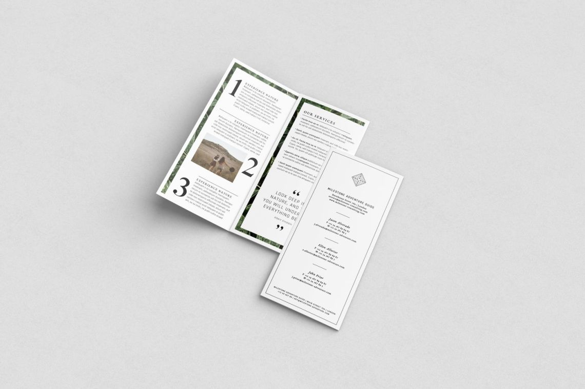 Download Pamphlet Mockup Psd Free Yellowimages