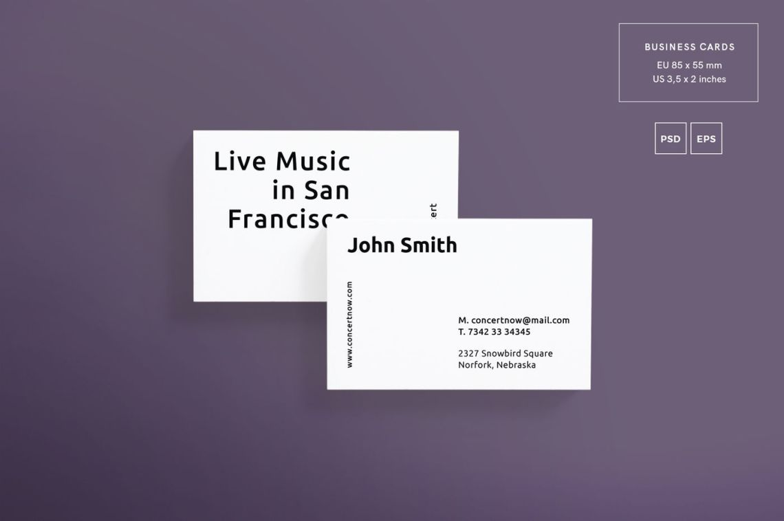Download Concert Ticket Mockup Psd Free Yellowimages