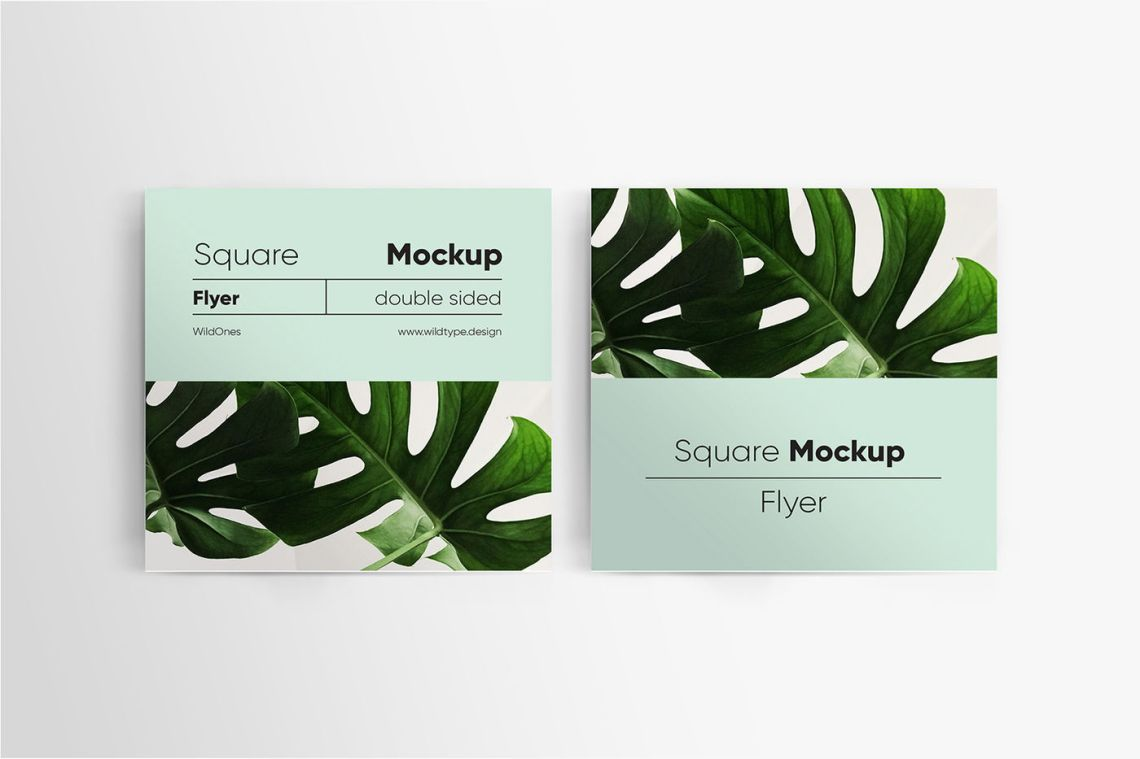 Download Double Sided Flyer Mockup Psd Free Download Yellowimages