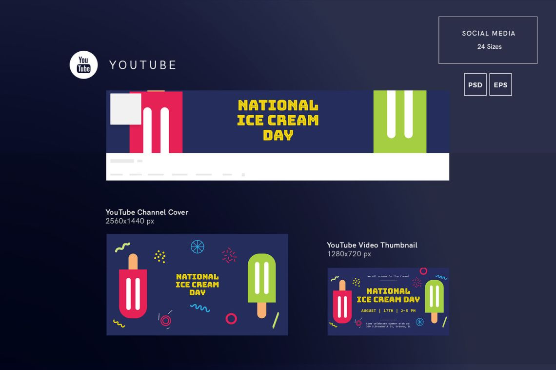 Download Youtube Banner Mockup Psd Free Download Yellowimages