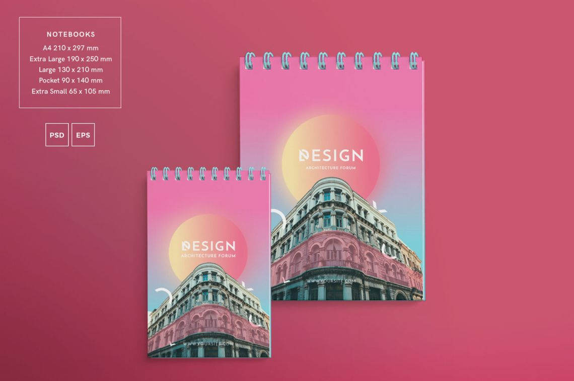 Download A4 Landscape Psd Brochure Mockup Yellowimages