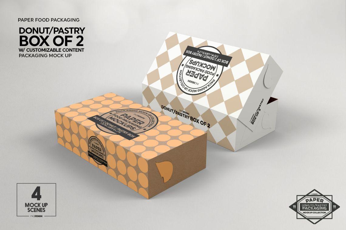 Download Free Mockup Box Packaging - Free Mockups | PSD Template ...