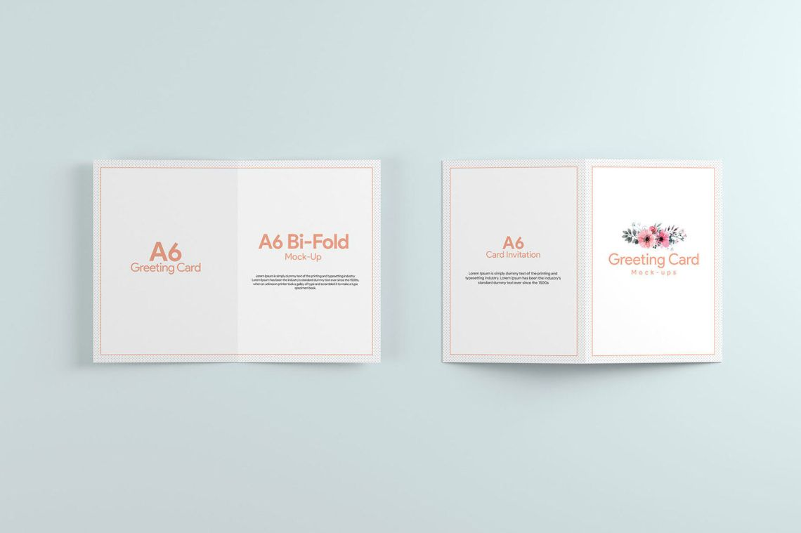 Download A6 Mockup Psd Free Yellowimages