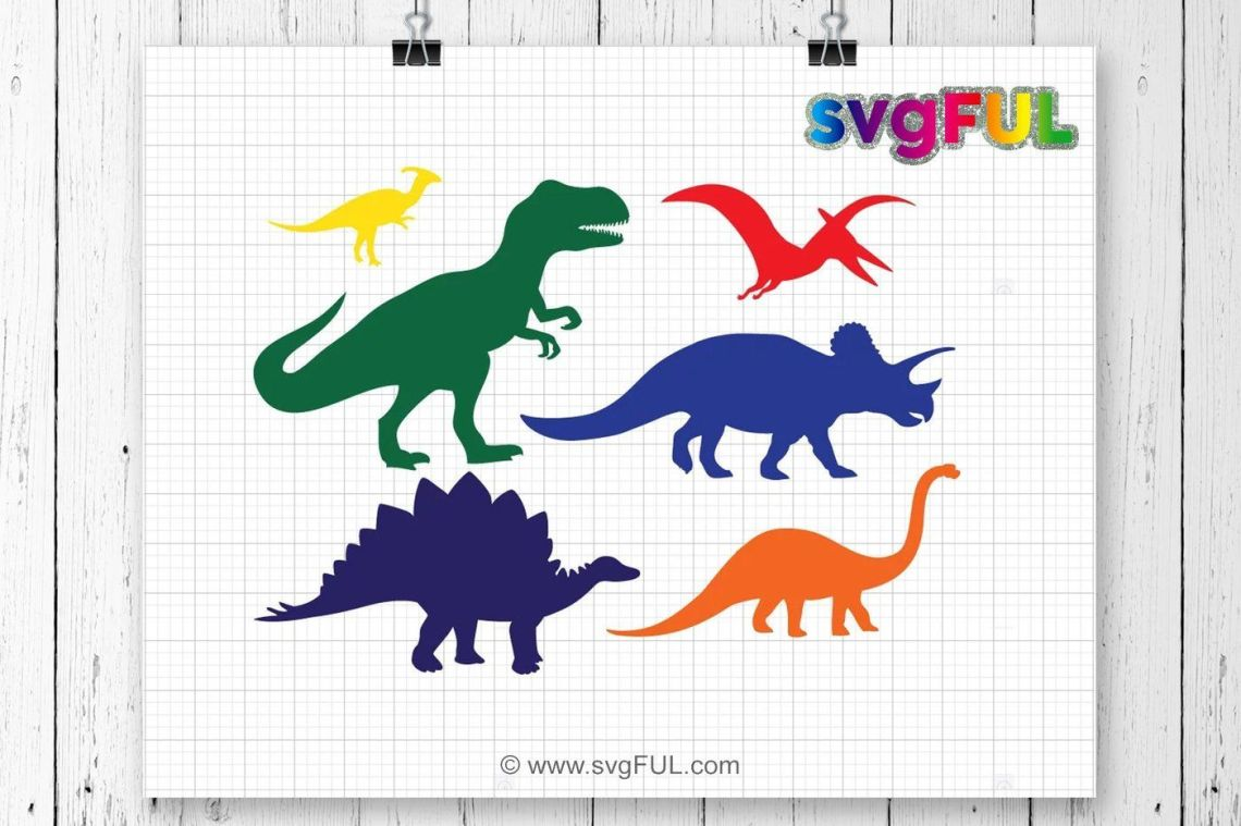 Download SVG, Dinosaur Svg, T-Rex Svg, Dinosaurs Clipart, Svg Files ...
