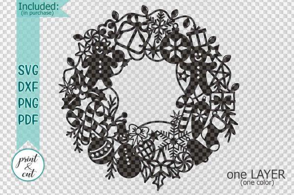 wreath template pdf # 25