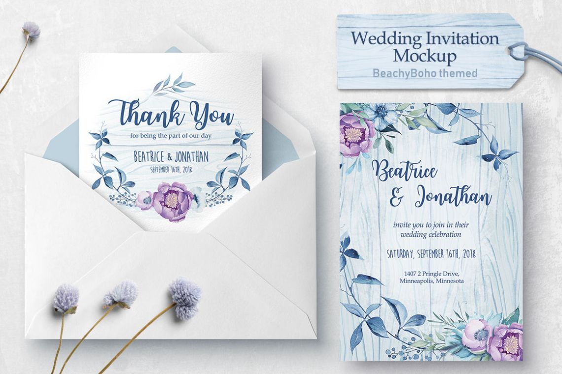 Download Wedding Card Mockup Psd Free Download Yellowimages
