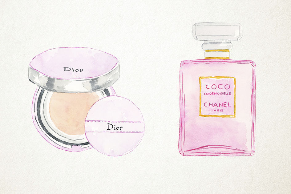 Download Paper Box Perfume Bottle Mockup Yellowimages