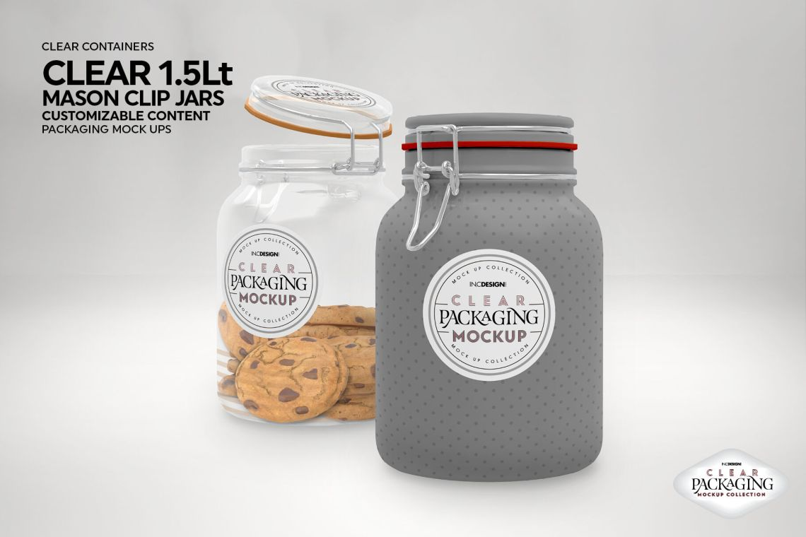 Download Clear Glass Honey Jar Mockup Yellowimages
