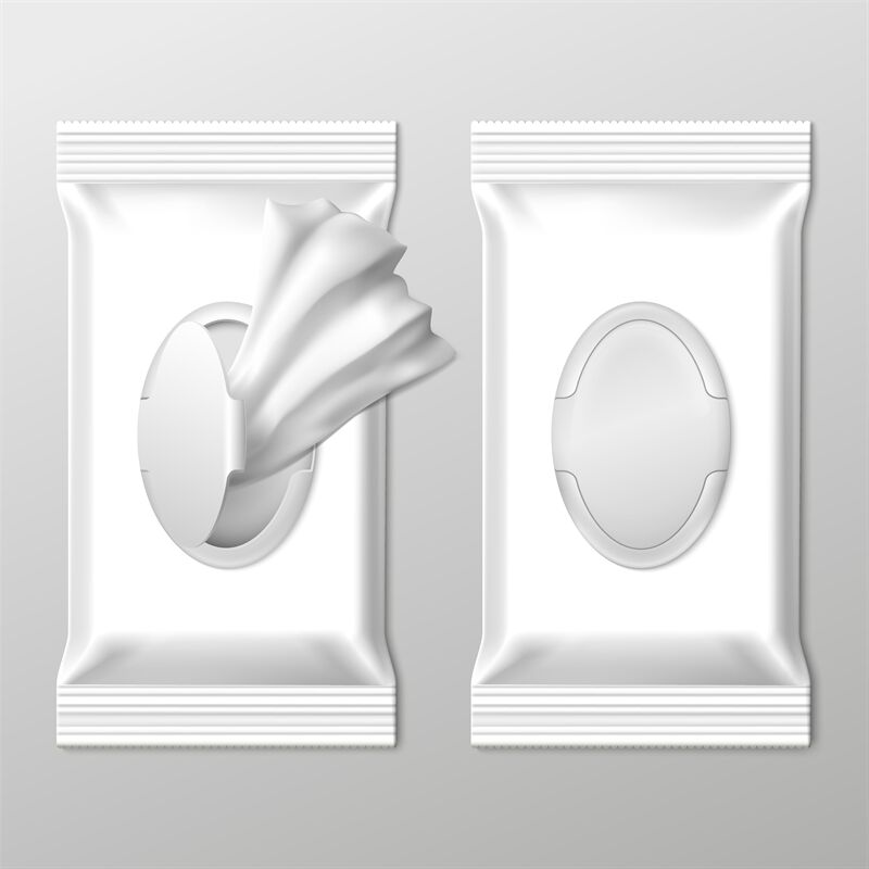 Download Wet Wipes Pack Mockup Top View Yellowimages