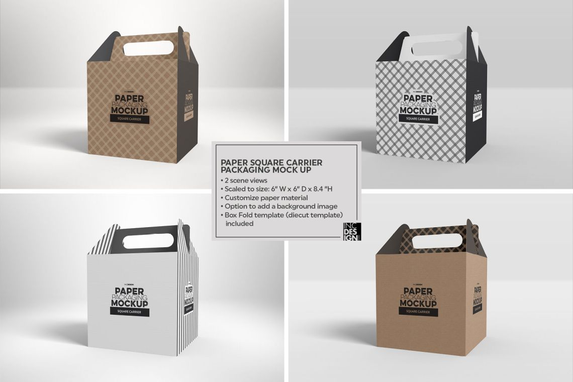 Download Two Matte Boxes With Label Mockup Top View Yellow Images