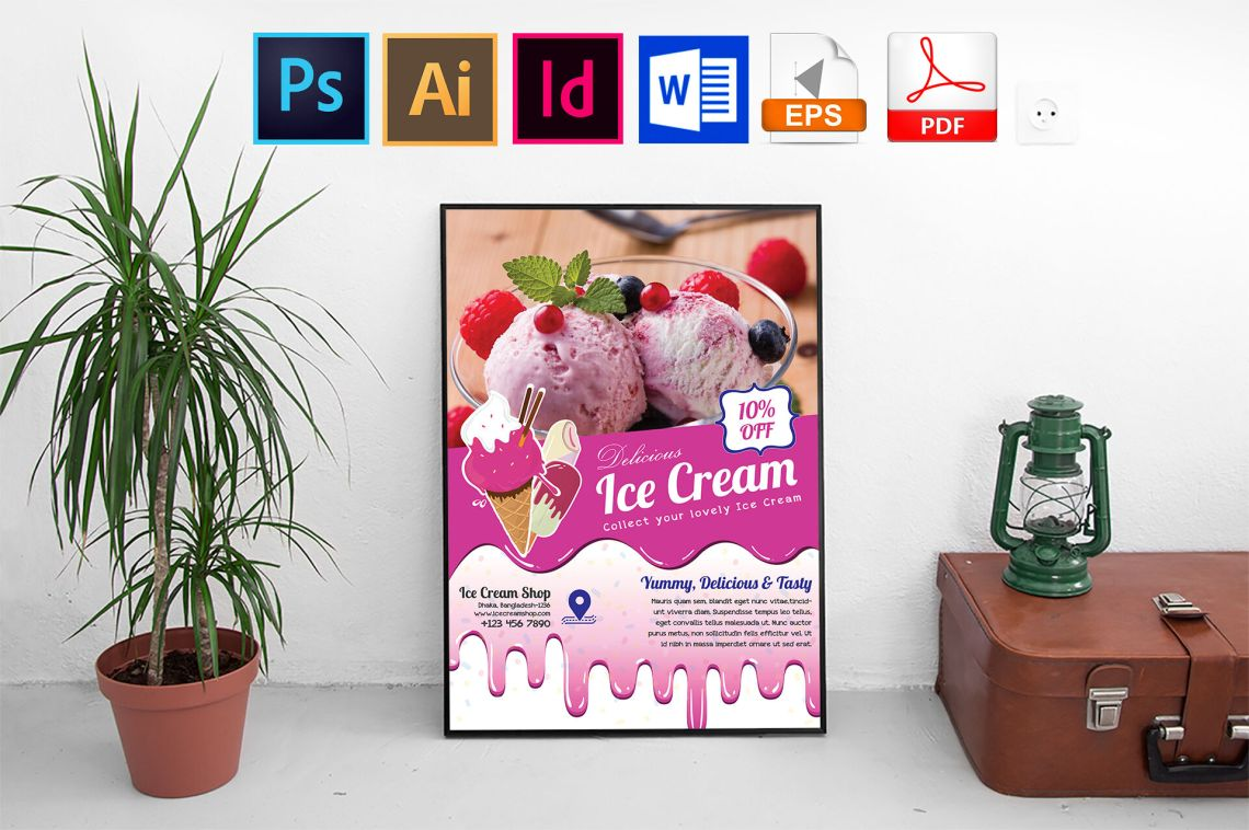 Download Ice Cream Mockup Free Psd Yellowimages