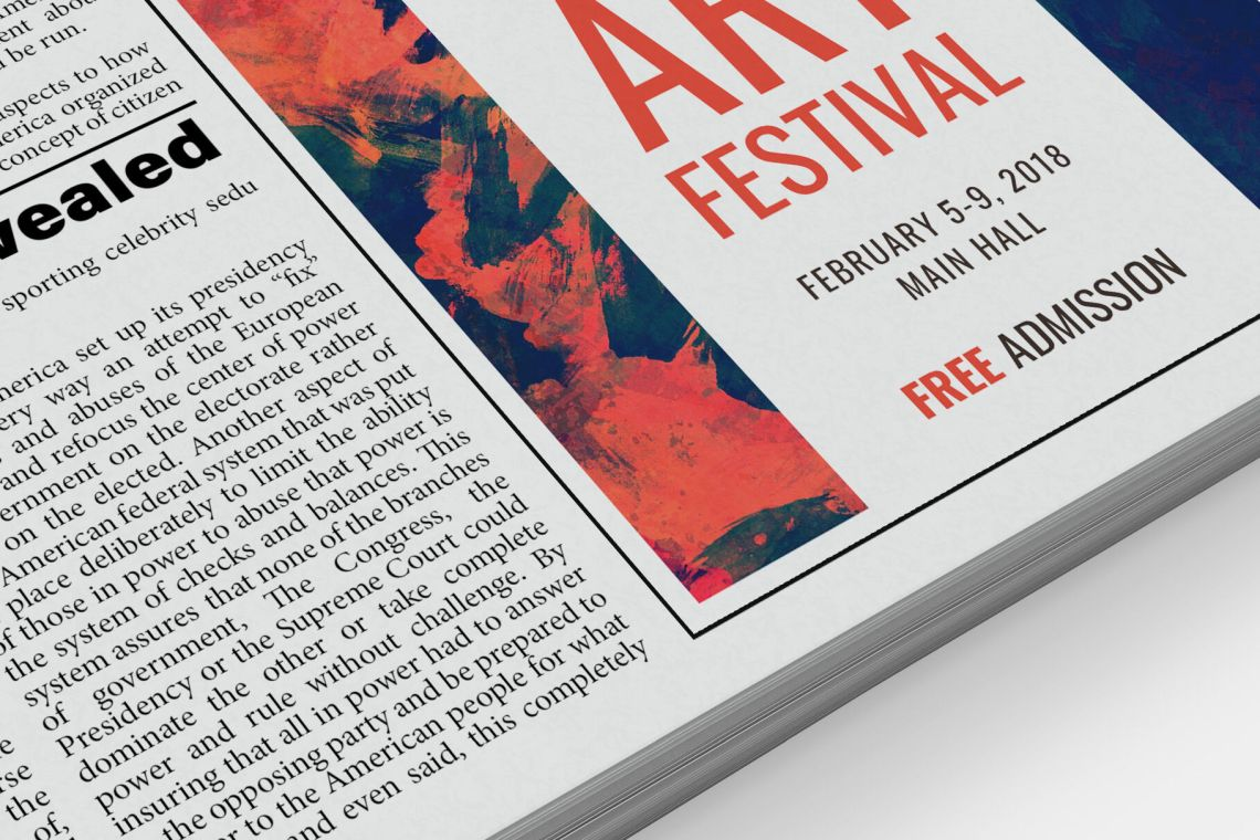 Download Psd Newspaper Mockup Yellowimages