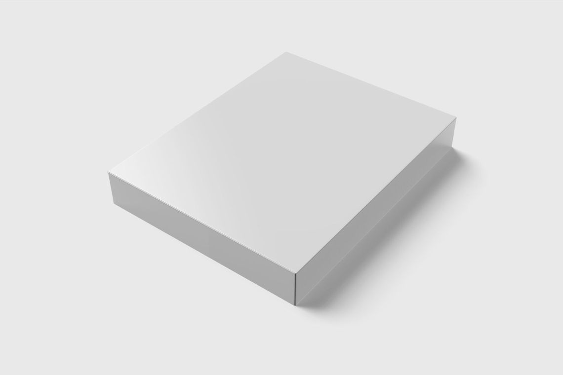 Download Corrugated Box Mockup Front View Yellow Images