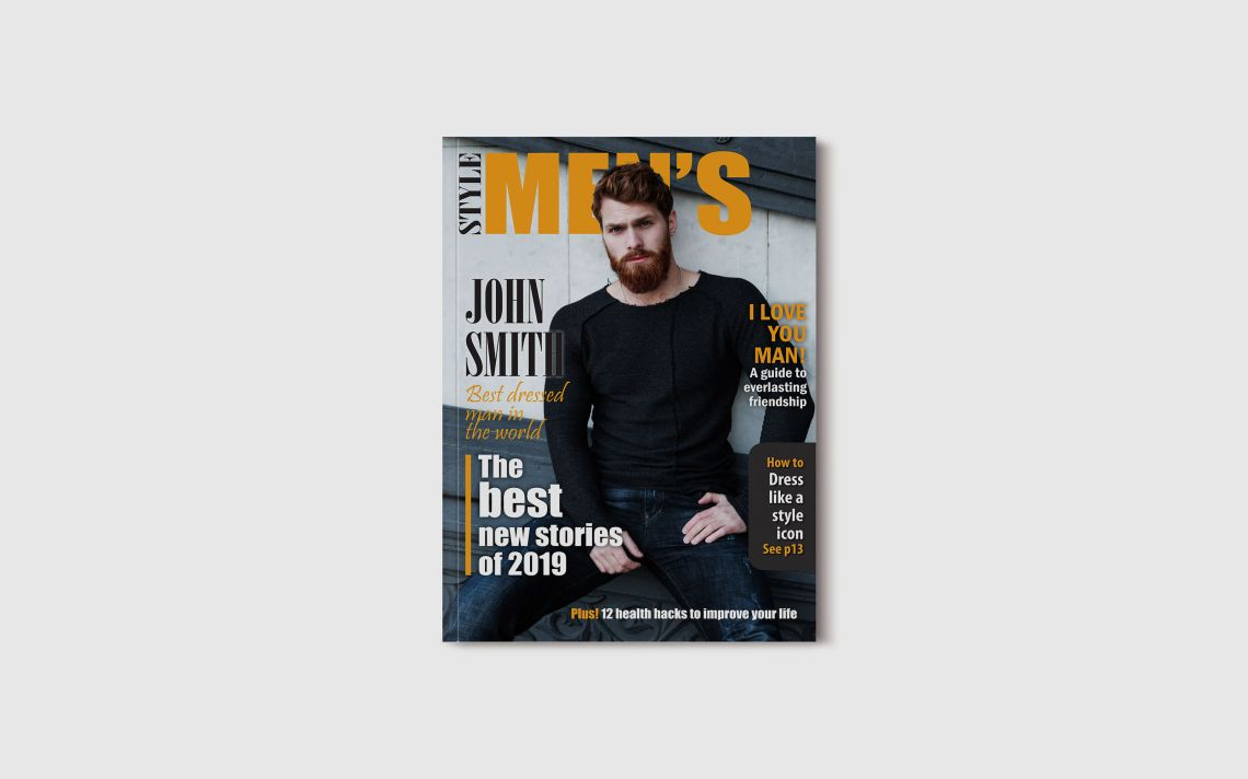 Download 85x11 Magazine Cover Mockup Psd Yellowimages