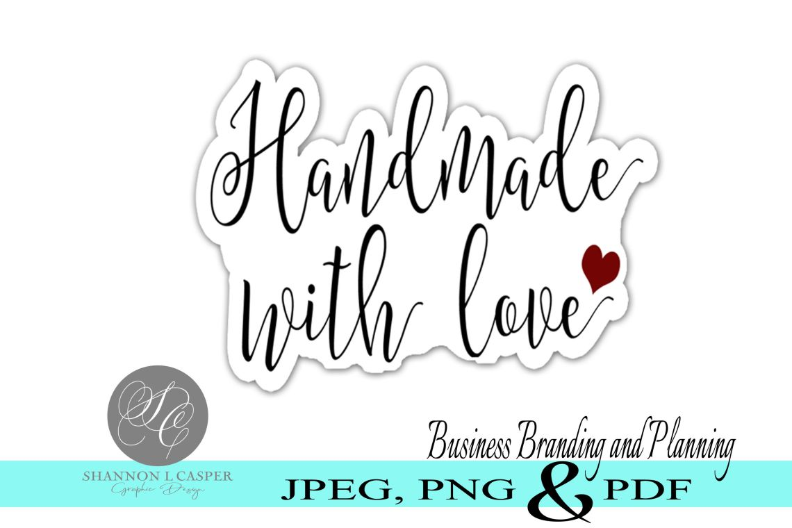 Download Handmade With Love Svg