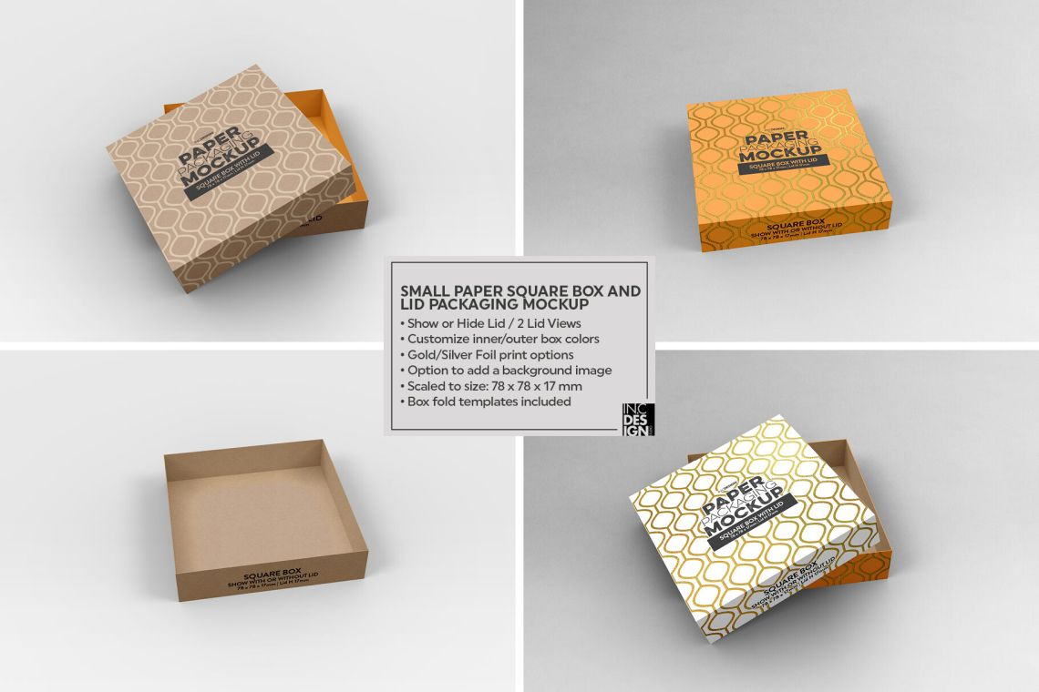 Download Box Mockup Front Top Views Yellowimages