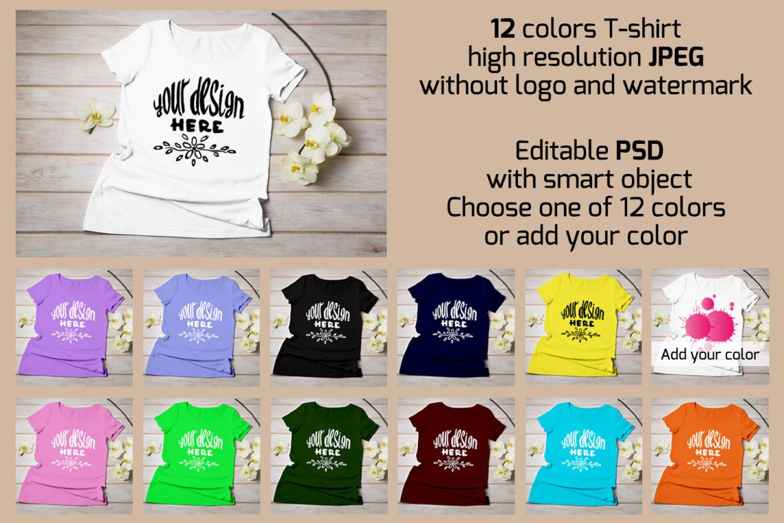 Download T Shirt Mockup Download Psd Yellow Images