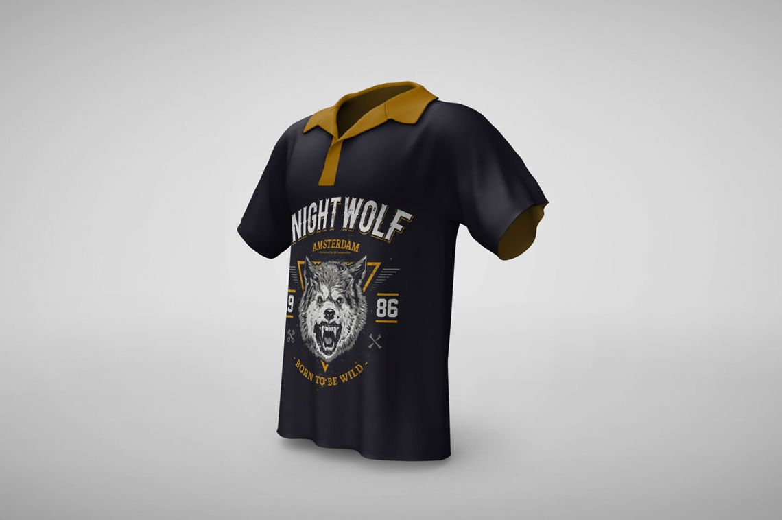 Download Full Sleeve T Shirt Mockup Psd Yellowimages