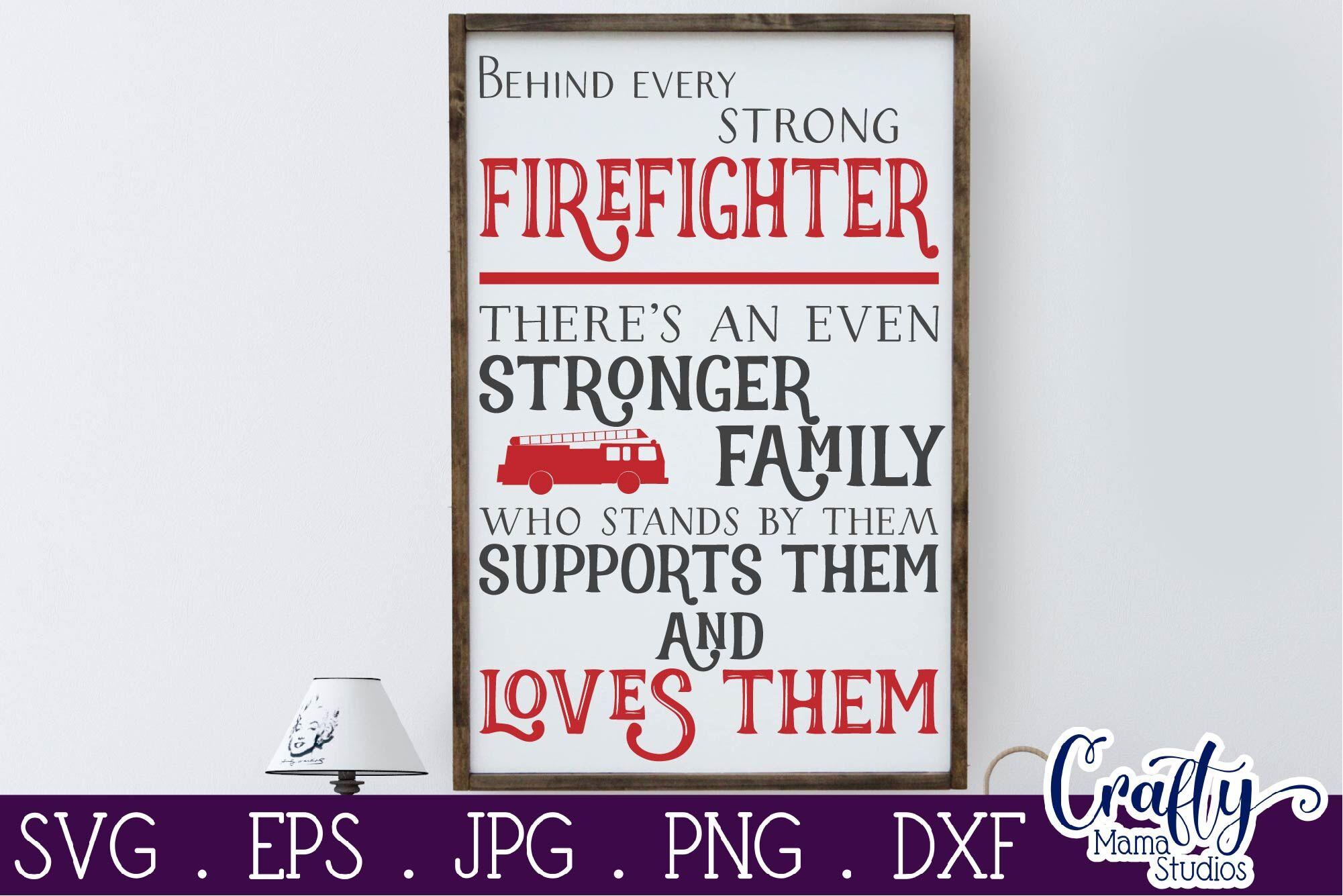 Firefighter Svg House Rules Svg Firefighter Decor Home Svg By Crafty Mama Studios Thehungryjpeg Com