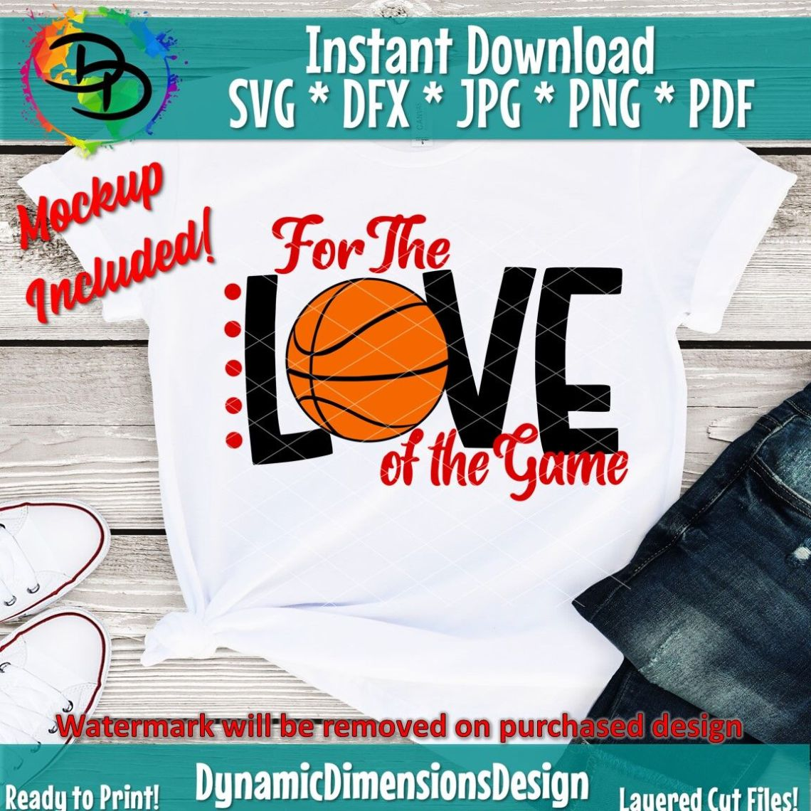 Download For the Love of the Game Svg, Basketball Mom Svg ...