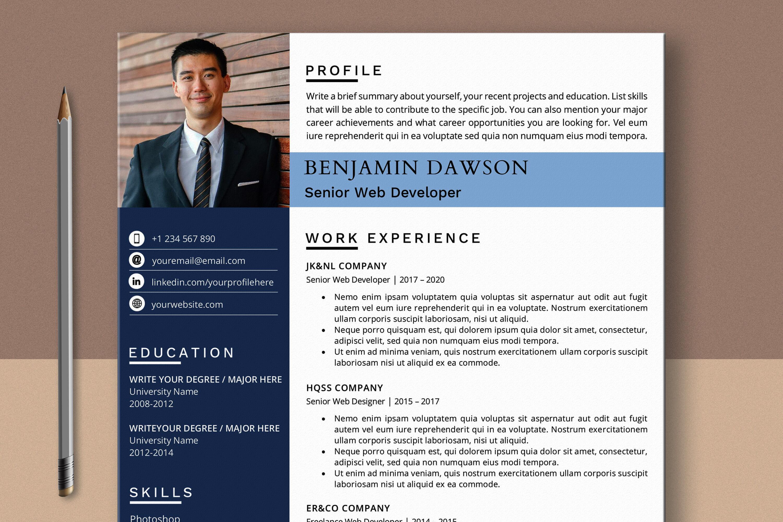 Web designer resume examples & samples. Web Developer Resume Template Word Pages By Lemonstudiocreations Thehungryjpeg Com