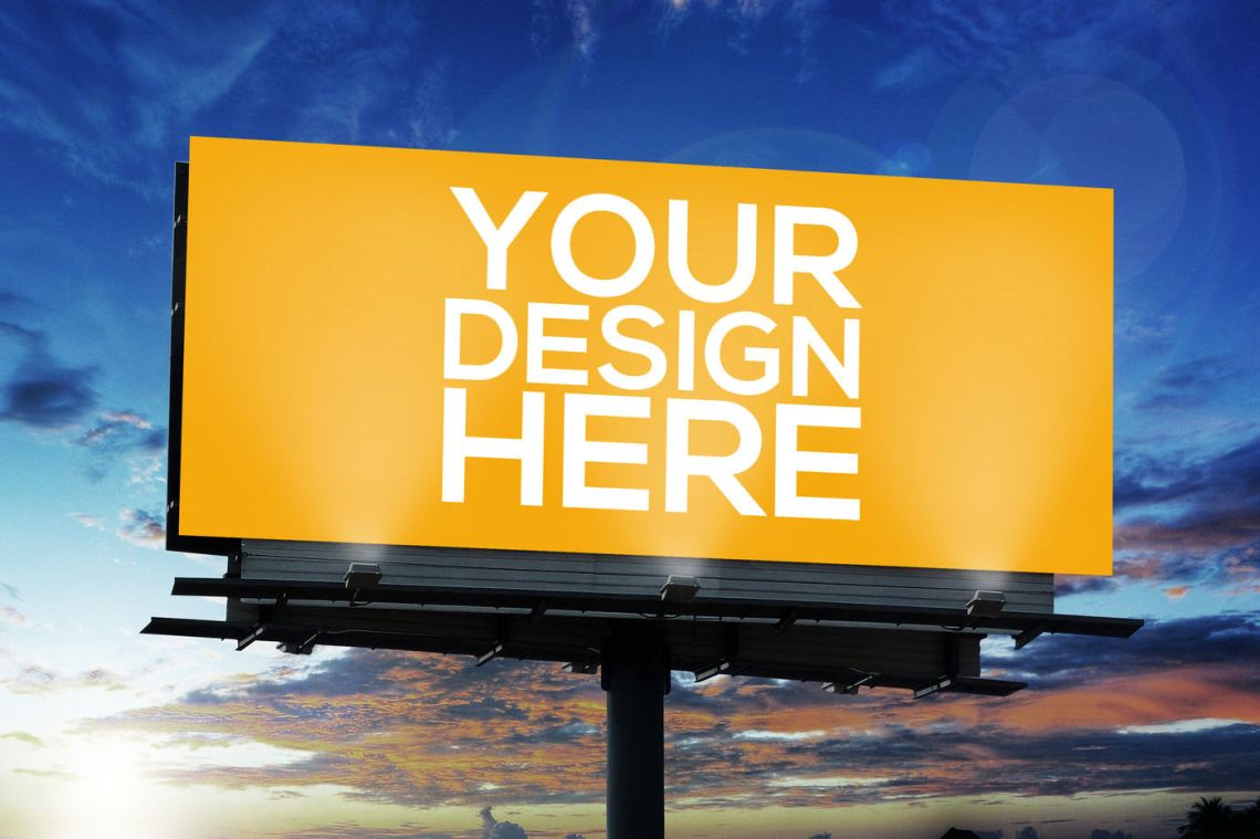 Download Free Billboard Mockup Template Yellowimages