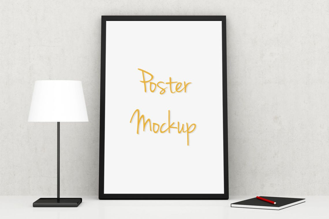 Download Landscape Poster Mockup Free Yellowimages