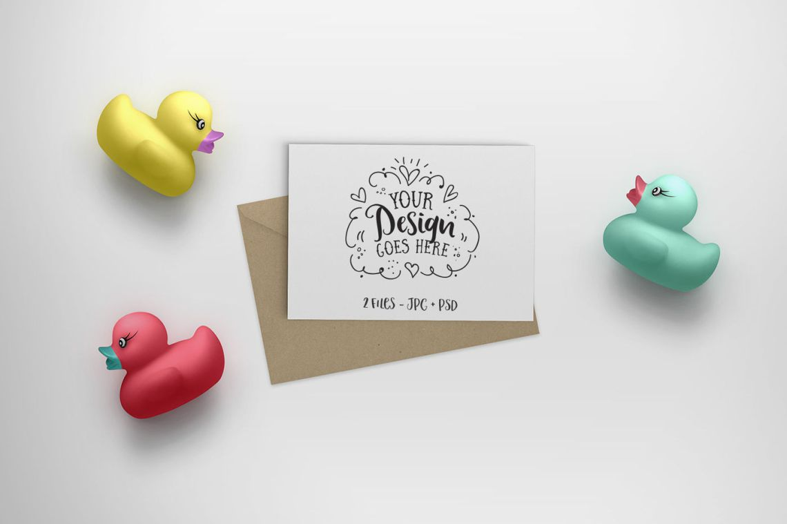 Download Psd Gift Card Mockup Yellow Images