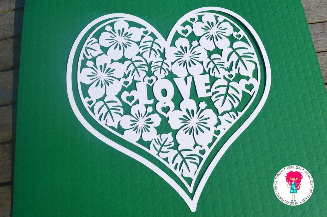 Download Love heart SVG / DXF / EPS Files By Digital Gems ...