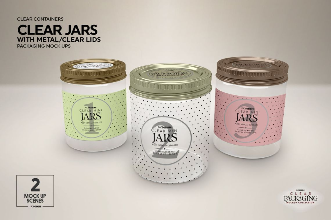 Download Cosmetic Jar Mockup Psd Yellowimages