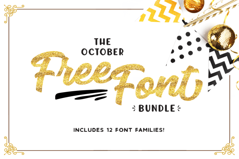 Download The October Free Font Bundle By TheHungryJPEG ...