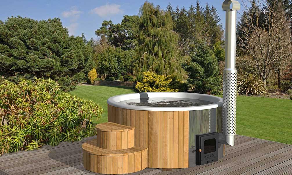 hot tub bain filandais deluxe 200 avec