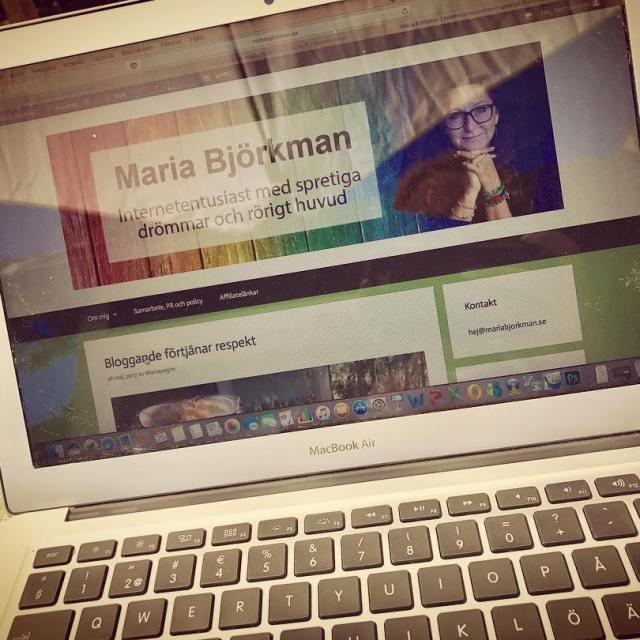Har bloggat om bloggande Lnk i bion
