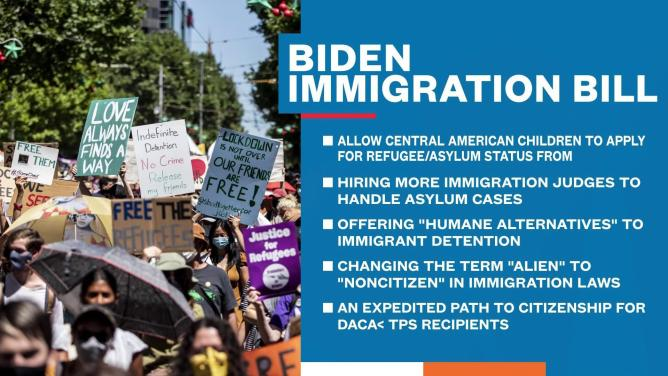 Image result for Biden with immigration