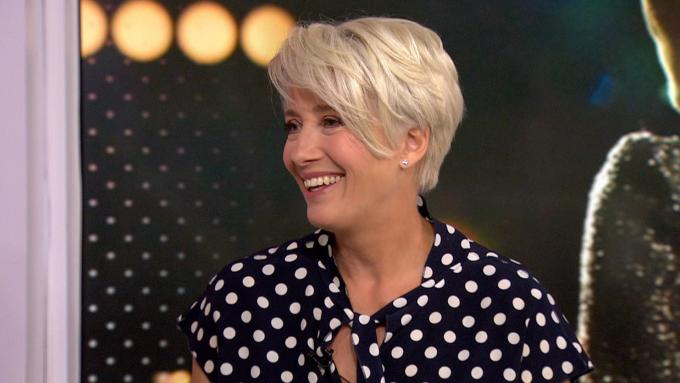 emma thompson dishes on new movie, 'late night'