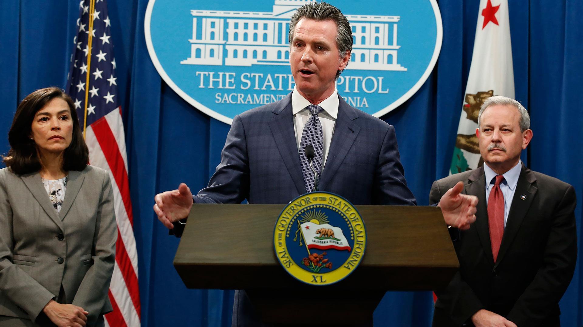 California legislators call for end of state of emergency 3/18/21