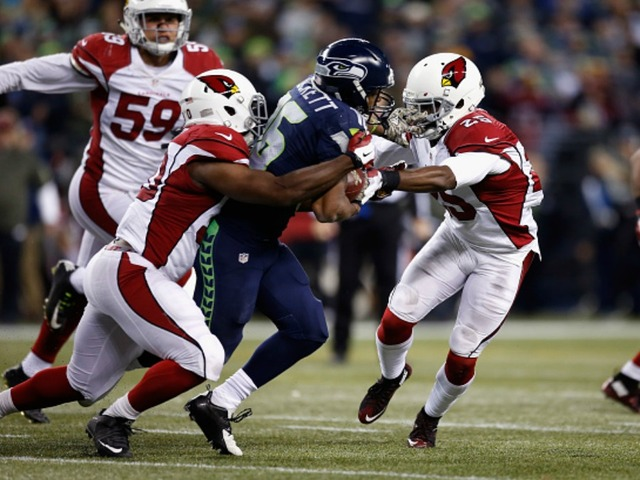 Image result for arizona cardinals at seattle seahawks 2016