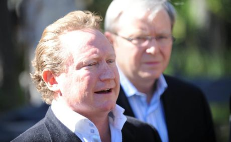 Fortescue Metals boss Andrew Forrest.