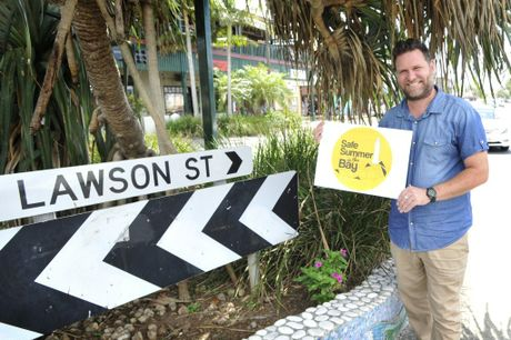 Simon Richardson, Byron Bay Mayor is looking forward to a safe Summer and New Year Eve.