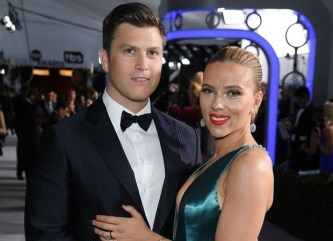 Scarlett Johansson and Colin Jost are married, the couple ties the knot in private ceremony : Bollywood News - Bollywood Hungama