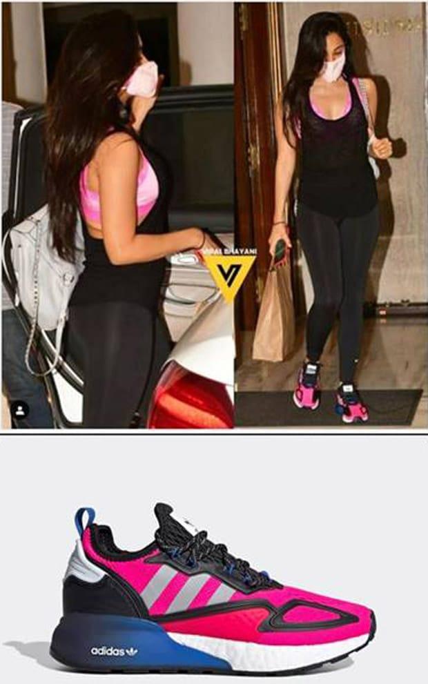 Celebrity Spotted Disha Patani, Shruti Haasan, Kiara Advani in New Adidas ZX2K Boost Sneakers Style