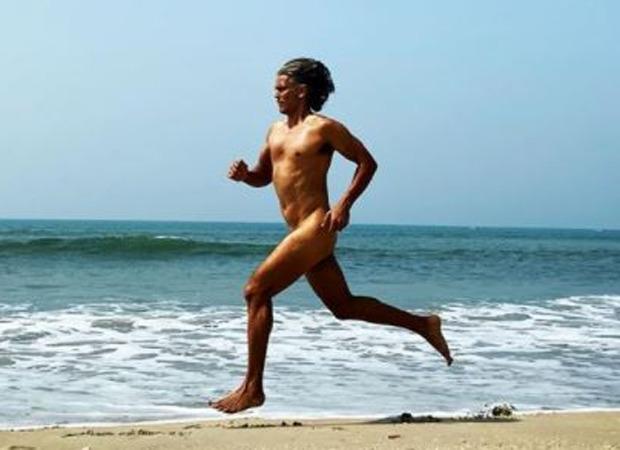Milind Soman runs nude on Goa beach as he kick starts his 55th birthday