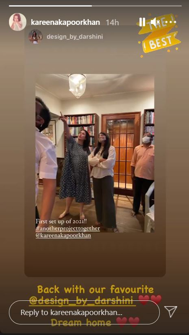 Kareena Kapoor Khan gives a glimpse at her dream home ahead of the arrival of her second baby