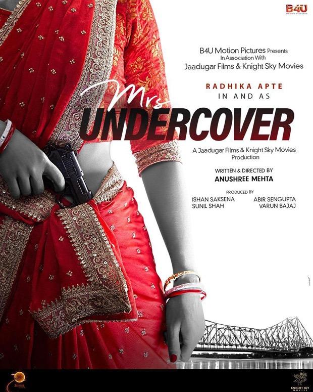 Radhika Apte will star as a spy artist, Ms. Undercover