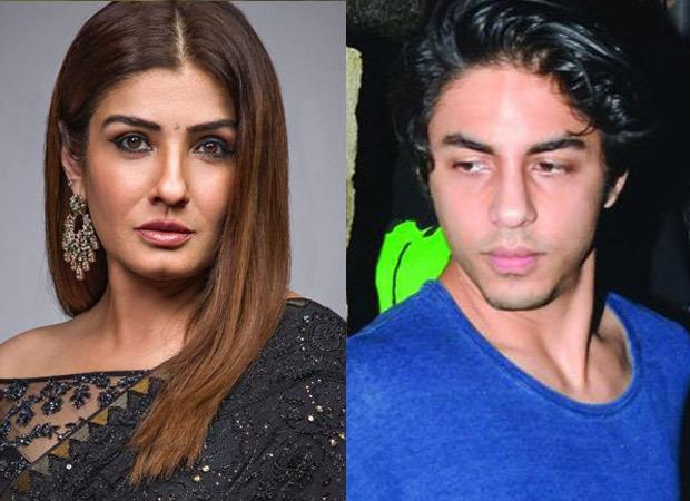 ड्रग मामले में आर्यन खान की गिरफ्तारी के बीच रवीना टंडन कहती हैं, ''शर्मनाक राजनीति की जा रही है.''