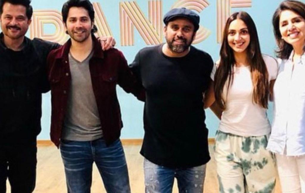 Anil Kapoor, Varun Dhawan, Kiara Advani, and Neetu Kapoor begin prep for the final schedule of Jug Jugg Jeeyo