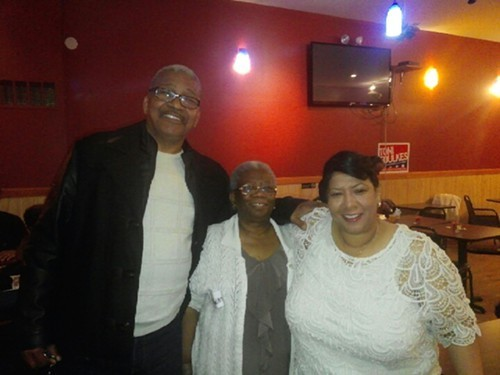 15th Ald. Toni Foulkes poses with her parents. Foulkes, whos campaigning to be alderman of the 16th Ward, posted this photo to a friends Instagram account in an attempt to clear up what she says has been confusion around her ethnicity.