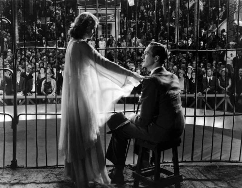 Barbara Stanwyck and David Manners star in Capras The Miracle Woman, which screens at the Music Box this weekend.